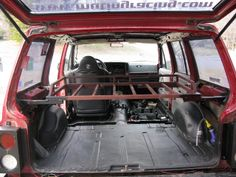 Interior Cargo Rack - Introductory Sale $30 off - NAXJA Forums -::- North American XJ Association