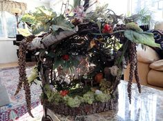 Woodland Faerie House 2 by Lazaruscreations on Etsy, $150.00