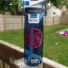 Monogram Water Bottle - Camelbak