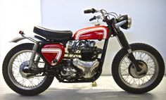 BSA Road Rocket 1957 DESERT RACER - Addict Motorcycle