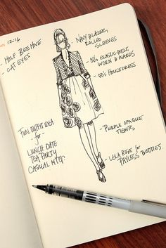 Fashionary Book Able Sketchbook