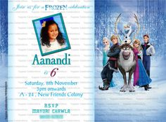 Frozen Invite