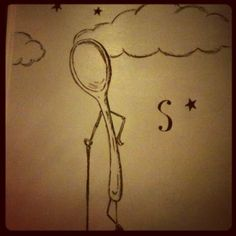 S is also for spoon. Or star.