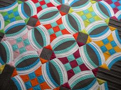Urban Nine Patch LOVE! :) This pattern is a customer favorite and a personal favorite of ours....