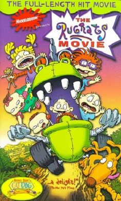 The Rugrats Movie [VHS] Movie Description: This animated comedy finds Tommy Pickles (E. Daily) trying to return his baby brother to the hospital after being w The Rugrats Movie, Rugrats All Grown Up, Vhs Movie, Horror Films, Vintage Movies, Videography, Bowser, Animation, Memories