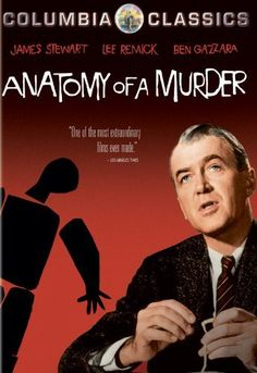 Anatomy Of A Murder  Filmed in Ishpeming, Michigan. Starring Jimmy Stewart, Lee Remick and Ben Gazzara. The author of the novel on which the movie was based was a judge from the UP. More interesting boards here: http://www.pinterest.com/swisstoons/