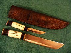 Custom Leuku and Puukko