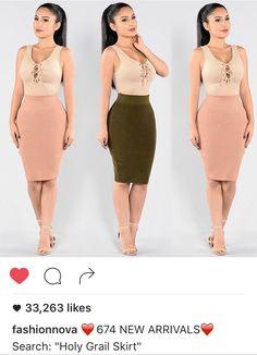 *green skirt