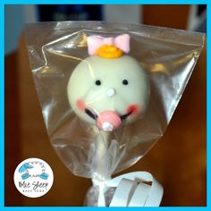12 Baby Face Cake Pop Favors