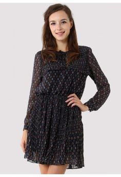 Add a long necklace, booties, and leggings or tights and you have a great outfit for the office :)