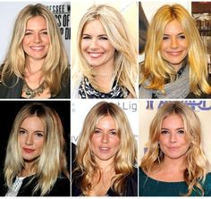 Sienna Miller: hair goddess. Perfect style & all those subtle blonde changes! Wow!