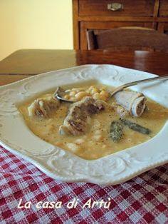 La casa di Artù: Cucina regionale Piemontese: mnèstra id saisri e fasulanna