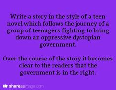 Image result for writing prompts for teen novel ideas