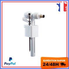 robinet flotteur WC modèle Universel compact 95L Chasse  Eau Toilettes Silencieu