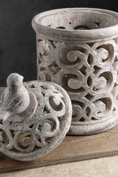 """cut-out Candle Holder 