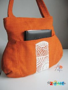 Geanta umar Oranj Handmade Bags, Tote Bag, Purses, Fashion, Handbags, Moda, Handmade Purses, Fashion Styles, Carry Bag