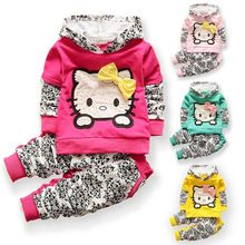 New baby girls christmas outfits Clothing sets hoodies+pant Children hoodies spring autumn kids 2pcs Sets sport clothes sets(China (Mainland))