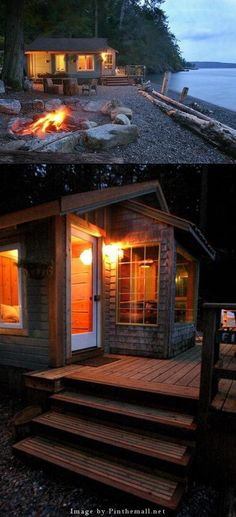Oh, to be able to retire here would be heaven! Orcas Island Cabins