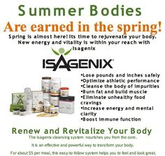 You too can get your body fit & fabulous for Summer and a lifetime !  http://www.facebook.com/pages/4-Amazing-Results/192324284245230#!