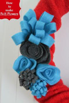 How To: Make Felt Flowers #Tutorial