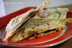 Bento Lunch Blog: Rezept: Pizza / Calzone aus dem Sandwich-Maker