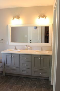 Double Sink Vanity, Vanity Sink, Vanity Design, Showcase Design, Vanities, Your Space, Bathrooms, Dressers, Bathroom