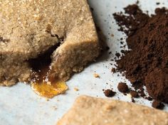 espresso burnt sugar shortbread