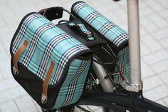 Alforje para bicicletas dobráveis