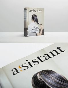 Assistant Magazine by Mariano Fiore &  Andres Guerrero