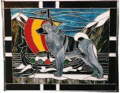 norwegian elkhound crossstitch - Google Search