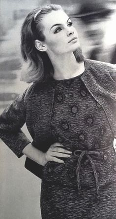 Jean Shrimpton by David Bailey October 1963