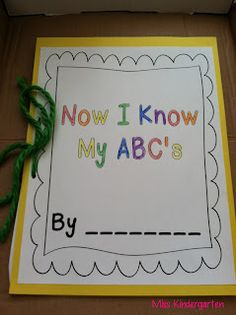 this is cute! a whole book of A is for, B is for...etc...have to remember this for January when we start focusing on a different letter every week