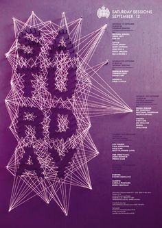Ministry of sound _D Brief by Charlotte Estelle Littlehales, via Behance