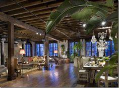 Gerard Butler's living room (NYC)