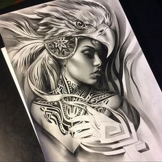 Aztec styled drawing of love the neck tattoo! Chicano Tattoos, Chicano Art, Body Art Tattoos, Sleeve Tattoos, Samoan Designs, Aztec Tattoo Designs, Neue Tattoos, Bild Tattoos, Tattoo Sketches