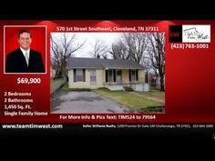 2 bedroom home for sale on 1st Street Southeast Cleveland TN http://teamtimwest.com Tim West, Keller Williams Realty : 1200 Premier Dr Ste 140 Chattanooga, T...