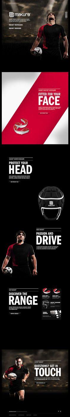 Makura Sport - CoolHomepages Web Design Gallery