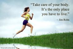 "https://flic.kr/p/fE7NQ4 | Your Body | ""Take care of your body. It's the only place you have to live."" ~ Jim Rohn  For more inspirational quotes, visit: personalexcellence.co/quotes/ Grab my free e-book ""101 Inspiring Quotes of All Time"" (worth $37 USD!): personalexcellence.co/newsletter/  Original quote image: personalexcellence.co/quotes/191"