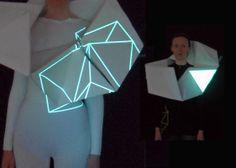 Illuminated Sculptural Costumes