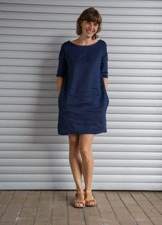 Rosa P - Kleid # 4 - Mein gewisses Etwas - Kleid Damen Sommer - Hoodie Dress, Tee Dress, Belted Dress, Bodycon Dress, Diy Maxi Skirt, Techniques Couture, Sewing Clothes, Elegant Dresses, Dresses Online
