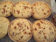 Muffins med Daim og valnødder……..
