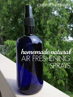 Here's two great recipes for DIY Air Freshening Sprays – eliminate odors from your home, without adding unnecessary toxins in your life.