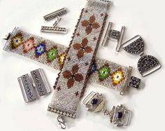 Bead Loom, Beadweaving Looms, Bead Supplies, Clasps, Silver Jewelry, Beaded Baskets - beadweaving.com - Bearcat and Co.