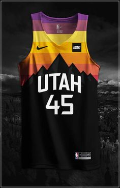 NBA x NIKE Redesign Project (Utah Jazz City Edition Jerseys) The Effective Pictures We Offer You About Utah houses A quality picture can tell you many things. You can find the most beautiful pictures Nba Uniforms, Sports Uniforms, Basketball Uniforms, Basketball Kit, Basketball Vests, Sports Jerseys, Basketball Legends, Utah Jazz, Basketball Jersey Outfit