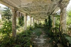 Abandoned Railway Station, Mississippi