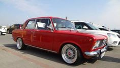 This Fiat was originally built by FSO in Poland with a license from Fiat. Although it came with as a four-door sedan with an inline-four some creative Polish builders converted it to a two-doo… Fiat 128, Cool Old Cars, Fiat Cars, Engine Swap, Best Classic Cars, Custom Wheels, Rally Car, Trucks, Cars And Motorcycles