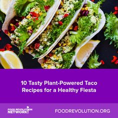 Tasty Plant Powered Taco Recipes For A Healthy Fiesta - But You Can Still Enjoy These Handheld Food Miracles Served With A Healthy Dose Of Plants Vegan Tacos To Spice Up Your Meals Whether You Want Your Plant Based Tacos Stuffed With Beans Mushrooms Healthy Taco Recipes, Healthy Tacos, Delicious Vegan Recipes, Mexican Food Recipes, Vegetarian Recipes, Cooking Recipes, Tasty, Vegan Tacos, Ethnic Recipes