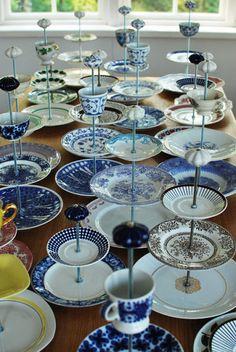 23 Ideas jewerly organizer diy plates tea cups for 2019 Diy Cake, Cake Plates, Jewelry Organization, Jewelry Storage, Jewellery Display, Diy Gifts, Tea Party, Diy And Crafts, Diys
