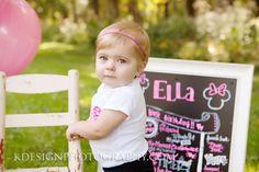 Ella's 1 year session!