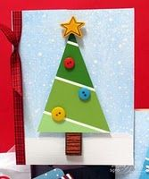 Angela Sgro Designs: Paint Chip Tree Cards - like the angle these paint chips are cut Homemade Christmas Cards, Christmas Cards To Make, Noel Christmas, Christmas Crafts For Kids, Xmas Cards, Homemade Cards, Holiday Crafts, Kids Crafts, Paint Chip Cards